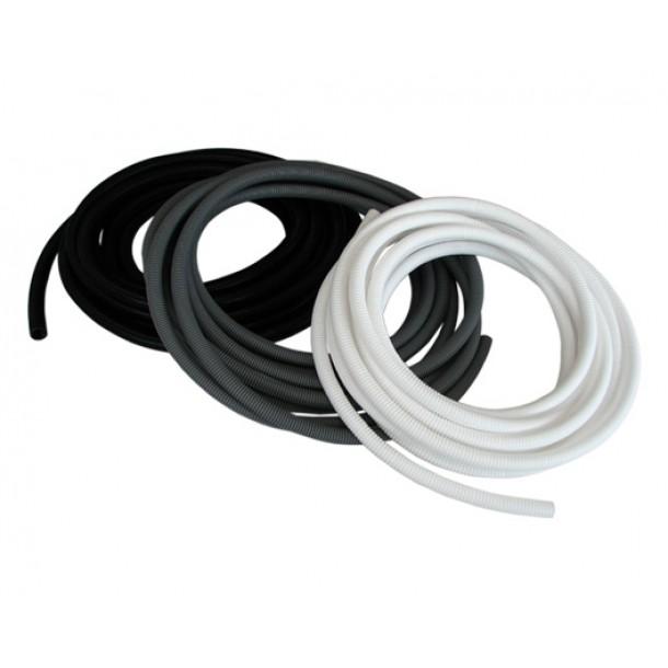 Black Flexible Conduit 25mm x 10m (inc. 10 Glands)