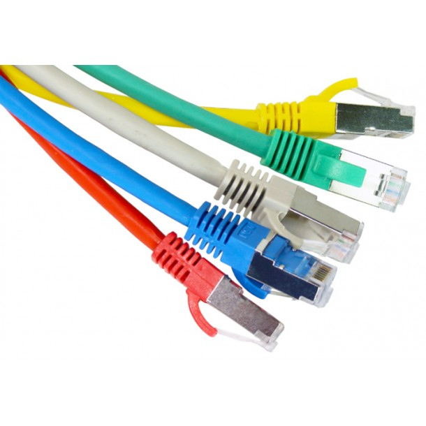 Cat6a SFTP  Snagless Patch Cables 10GBASE-T Ethernet